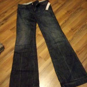 Joe's wide leg jeans